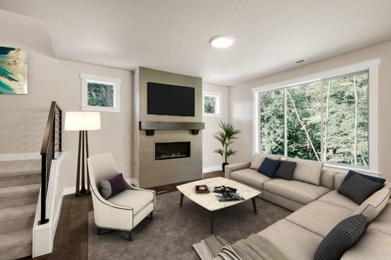Bright and spacious great room living