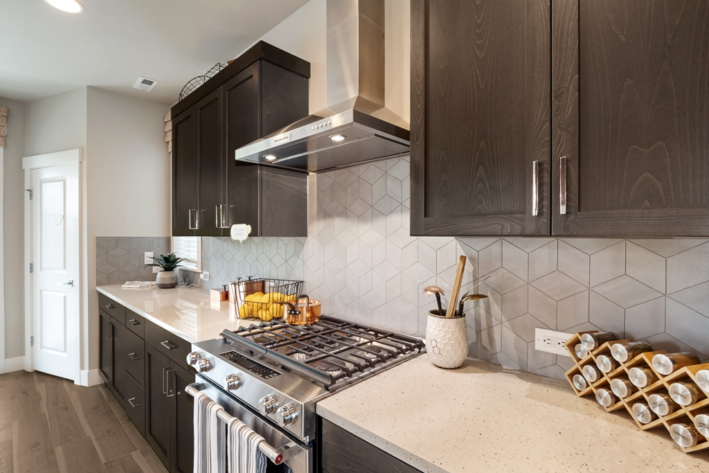 Stainless steel rangehood and gas cooking