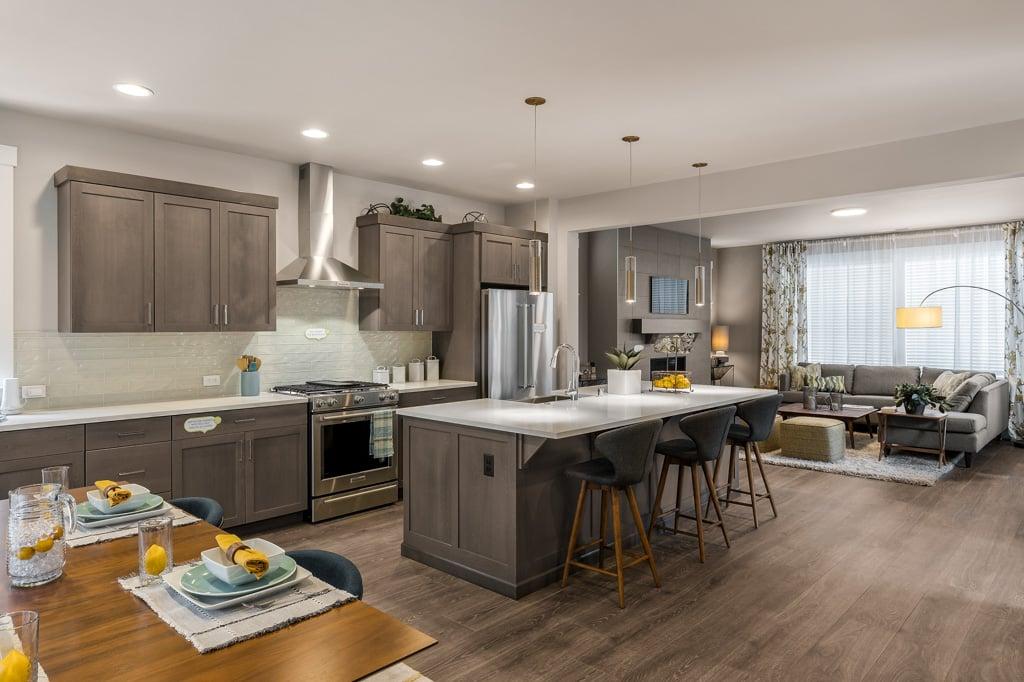 Central kitchen in 2431 plan