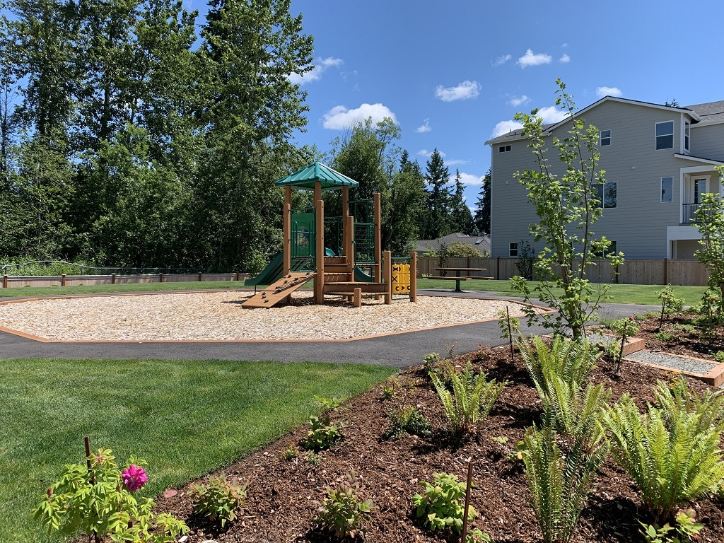 Community park and play area